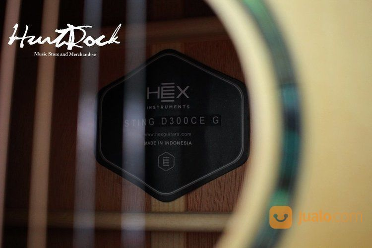 Guitar acoustic hex s gitar dan bass 15462725