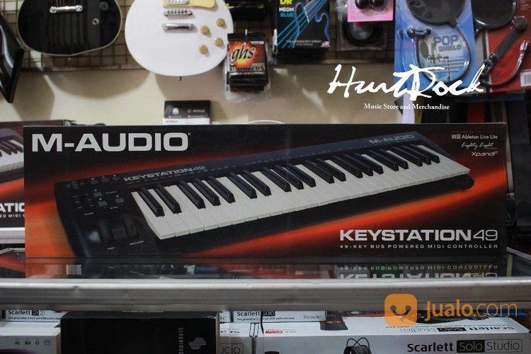 M audio keystation 49 keyboard dan piano 15805485