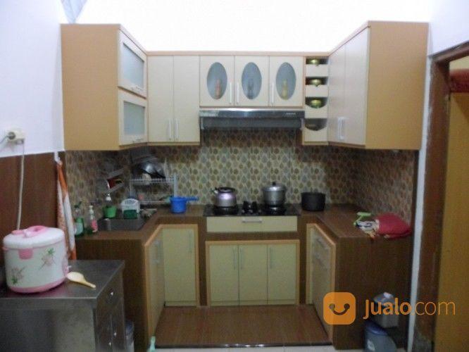 Kitchen set bentuk u kebutuhan rumah tangga furniture 16147533