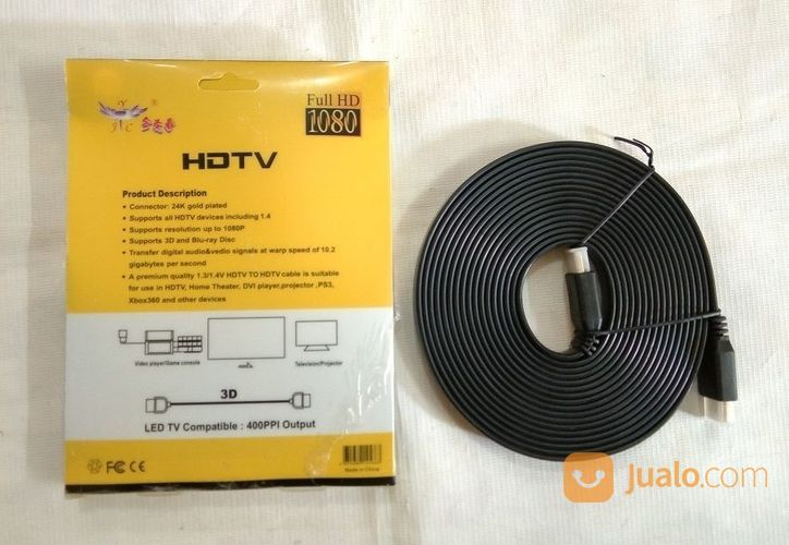Kabel hdmi to hdmi hd aksesoris dan kabel audio 16400305