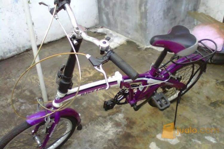 sepeda lipat bekas Jakarta Timur Jualo