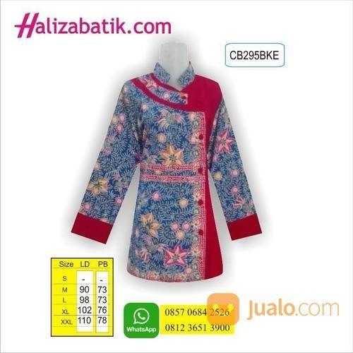 Model Baju Batik Modern Untuk Kerja Wanita: Blus Batik, Busana Batik Modern, Model Baju Kerja Wanita