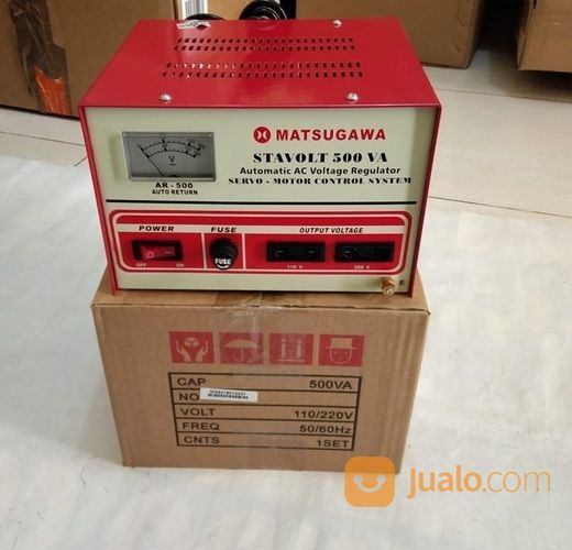 Stavolt Matsunaga SVC-500N Automatic Voltage Stabilizer # Komputer
