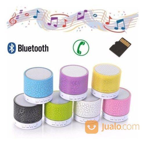 Mini Portable Speaker Bluetooth Wireless Dengan SUPERBASS Dan LED