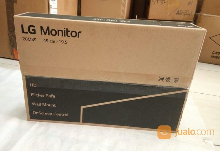 "Monitor LED LG 20"" (19.5 ) 20M39 # Komputer Aksesoris"