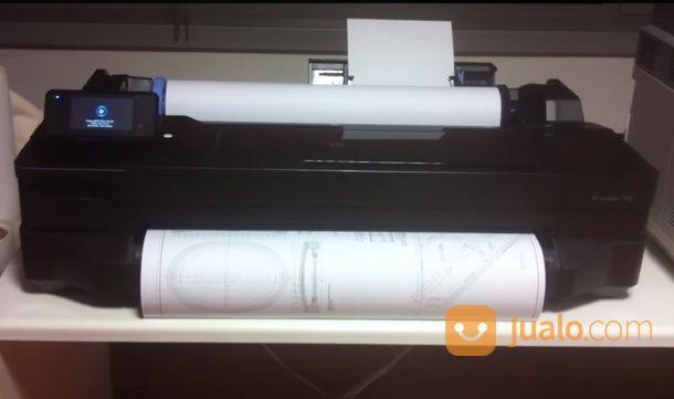 Plotter hp designjet printer dan scanner 17267747