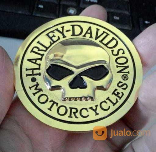 Emblem metal 3d gold aksesoris motor emblem motor 17501491