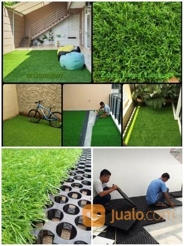 Rumput Sintetis Dekorasi Ruangan Kantor Rumah Halaman Taman Dll