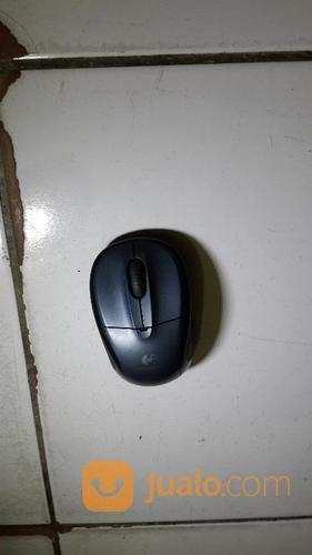 Mouse wireless logite keyboard dan mouse 18116039