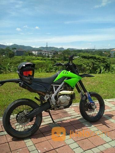 Klx 150 modif supermo motor kawasaki 18348983