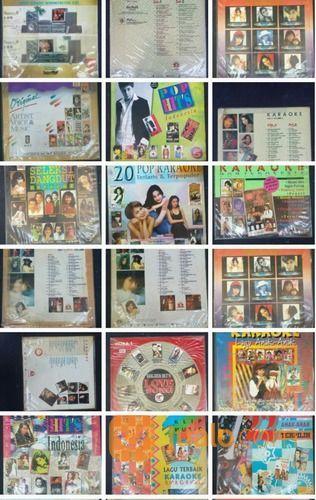Laser disc karaoke in koleksi kaset dan vinyl 18404879