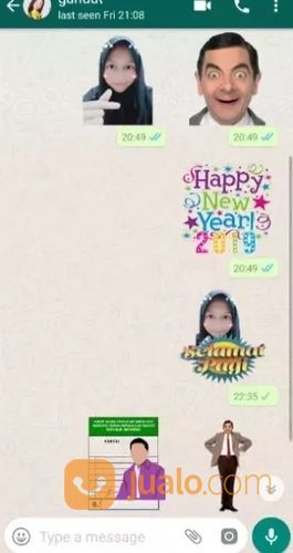 Stiker Whatsapp Surabaya Jualo