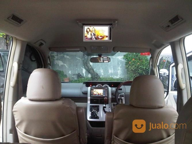 Toyota NAV 1 Type V 2013 Putih Baby Alphard Mewah TV Kamera Mundur Pintu  Otomatis Siap Mudik Lebaran