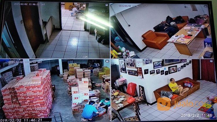 Paket kamera cctv 4 c spy cam dan cctv 18728111