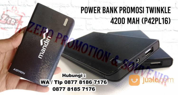 Souvenir power bank 4 power bank dan baterai 18920275