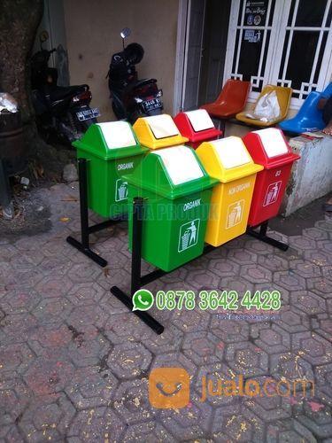 Tong sampah kotak 40 perlengkapan industri 19072863