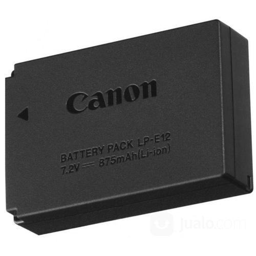 Battery canon lp e12 aksesoris kamera lainnya 19116795