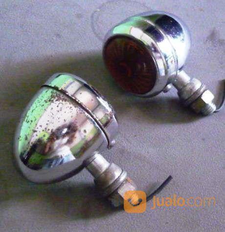 Lampu retting krom va aksesoris motor aksesoris motor lainnya 19134163