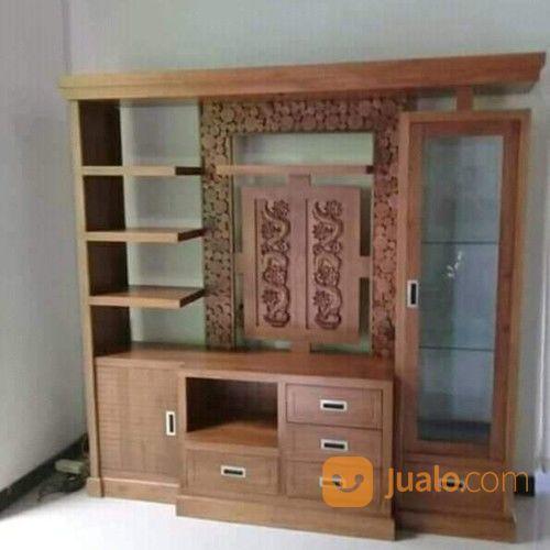 Partisi meja tv penye kebutuhan rumah tangga furniture 19159587