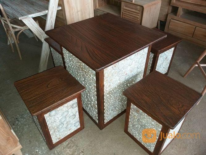 Meja santai kotak ant kebutuhan rumah tangga furniture 19170239