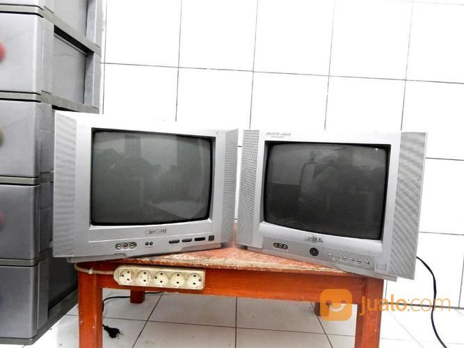 Tv 14 inc stok 2unit televisi lainnya 19220443