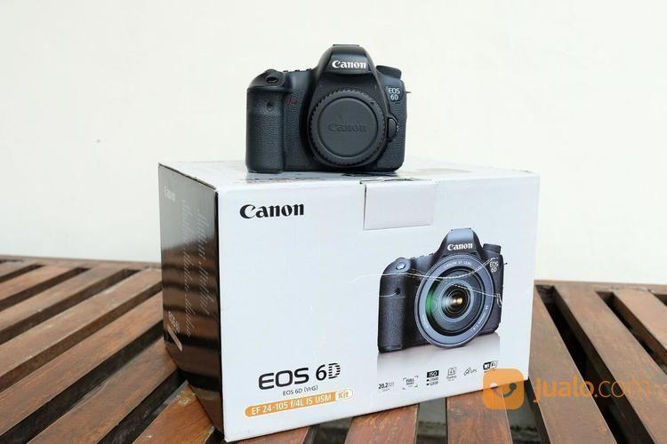 Canon eos 6d body onl kamera dslr dan slr 19321951
