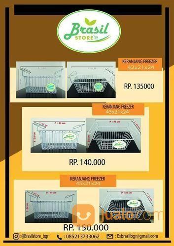 Keranjang display fre kulkas dan freezer 19325343