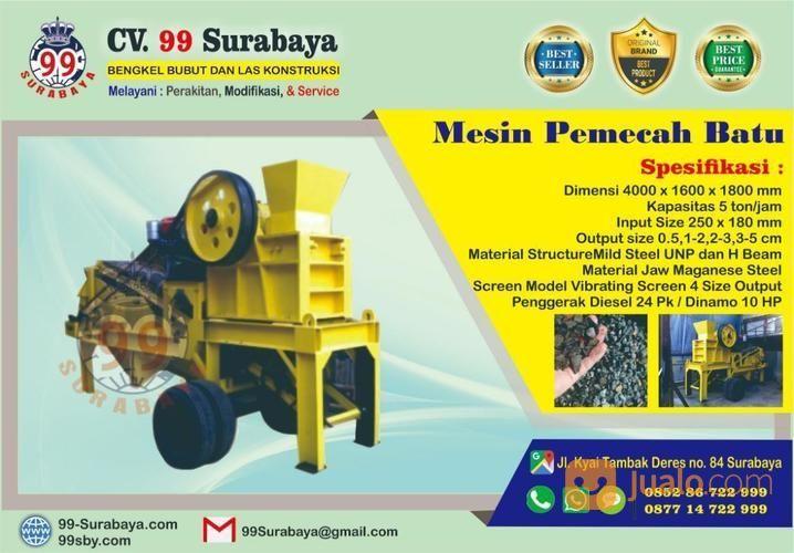 Mesin pemecah batu sp perlengkapan industri 19420267