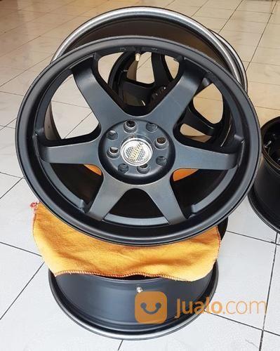 Velg Rays Volk Racing Te37 Black 17x75 Murah Aja