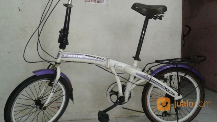 Sepeda Lipat Merk Exotic Ban 20 Inchi Siap Goes Jakarta