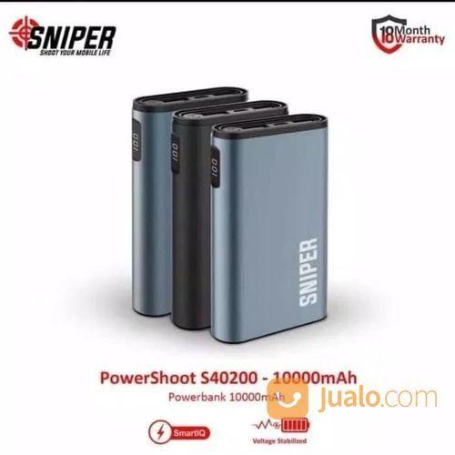 Powerbank sniper powe power bank dan baterai 19592175