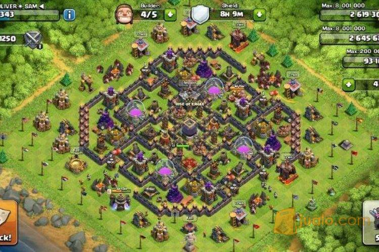 Clash Of Clans Max Th9 Game And Movie