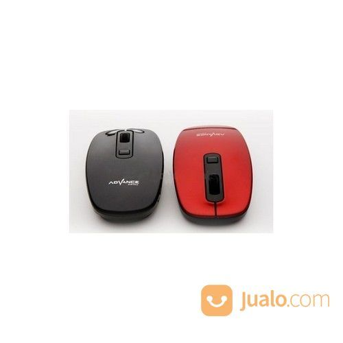 Mouse wireless advanc keyboard dan mouse 19786971
