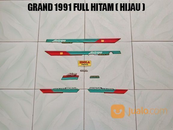 Striping grand 1991 f aksesoris motor perawatan motor 20310071