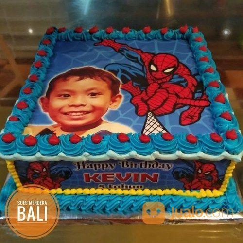 Kue Ultah Kartun Animasi Anak Birthday Cake Bali