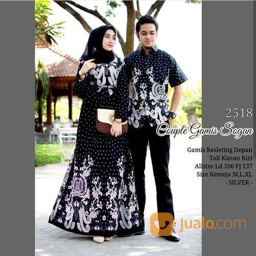 Batik couple gamis barang couple 20367939