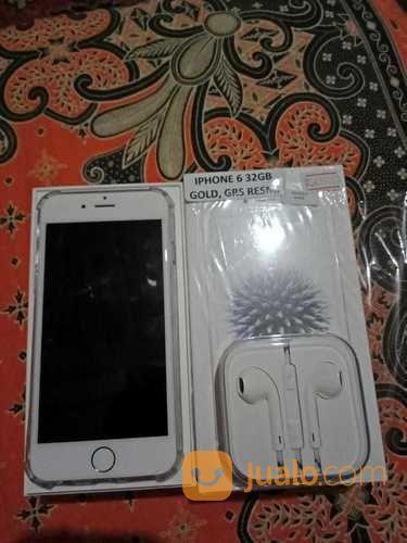 Iphone 6 32gb gold ga handphone apple 20569659