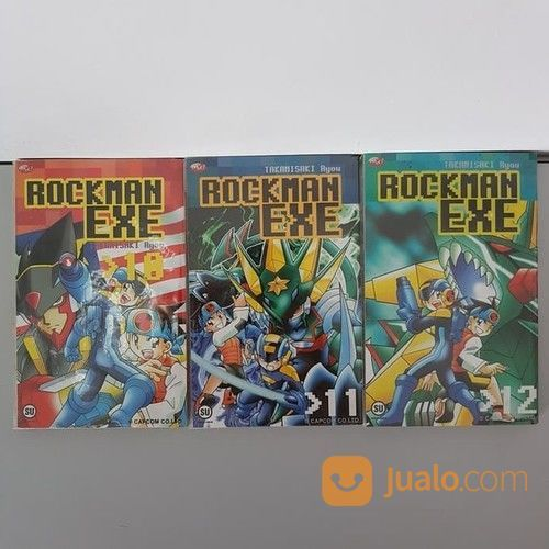 Komik rockman exe eks buku novel dan komik 20624215