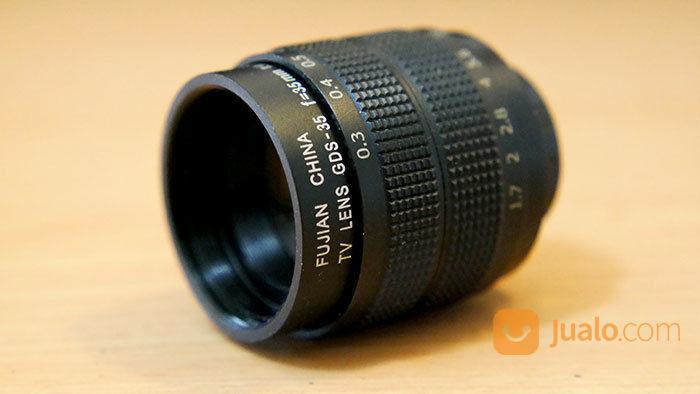 Lensa fujian 35mm f1 lensa kamera 20676539