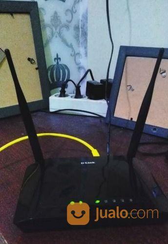 Wireless router d lin modem dan router 20776427