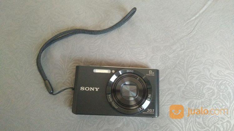 Sony dsc w830 black kamera pocket dan polaroid 20788531