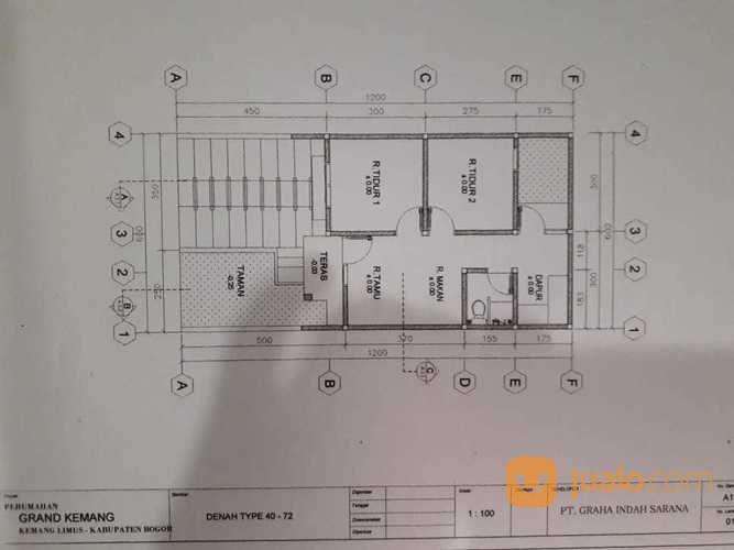 Rumah tanpa dp biay properti properti lainnya 20819791