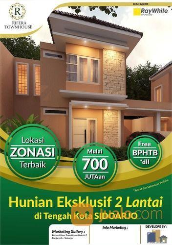 Rumah 2 lantai 700 ju rumah dijual 20822131