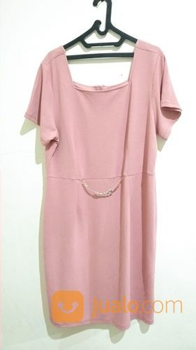 Pinky dress big size wanita 20895343