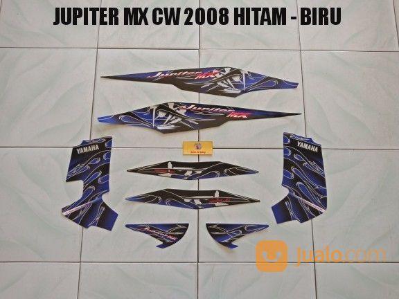 Striping jupiter mx c aksesoris motor stiker motor 20944439
