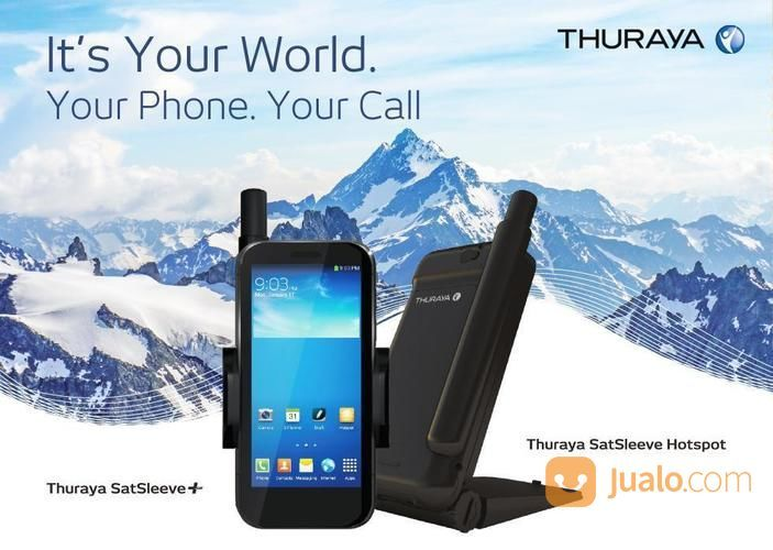 Thuraya satsleeve plu handphone apple 20960759