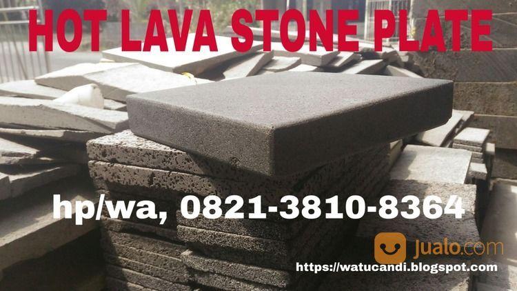 Hot lava stone plate rumah tangga dapur 21012911