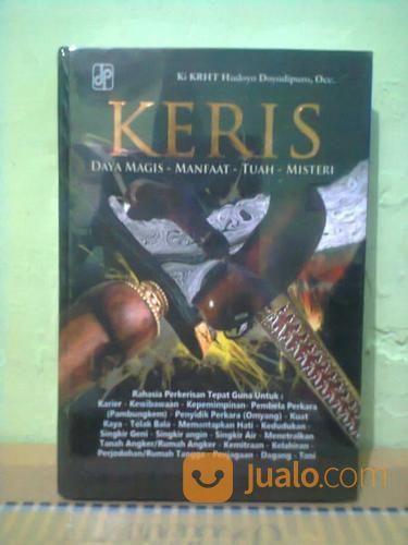 Buku keris daya magic buku lainnya 21043323