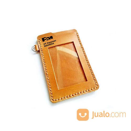Name tag kulit asli l perlengkapan industri 21051779