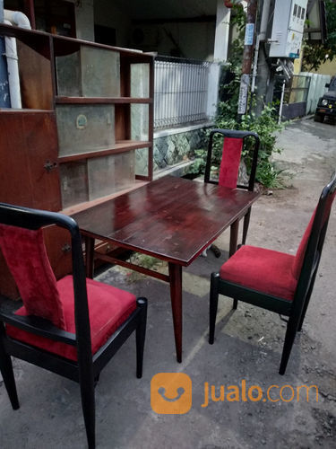 Meja makan jengki ant kebutuhan rumah tangga furniture 21103031